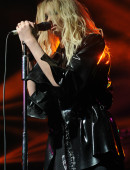 aylor Momsen of The Pretty Reckless performs