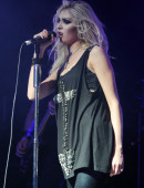 Taylor Momsen of The Pretty Reckless performs
