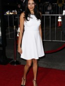 Tehmina Sunny attends the World Premiere Of Universal Pictures And Studiocanal's 'Non-Stop' held at Regency Village Theatre in Westwood