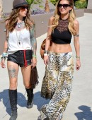 EXCLUSIVE: Audrina Patridge flaunts her perfect abs in Palm Springs