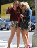 Reese Witherspoon poses for a selfie with some young fans