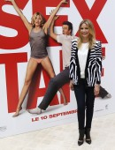 """Actress Cameron Diaz attends a photocall to promote the movie """"Sex Tape"""" in Paris"""