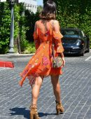 Lucy Mecklenburgh Out for Lunch in Beverly Hills