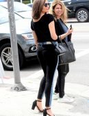 Olivia Culpo in Jeans, Leaving a REVOLVE Store in Los Angeles