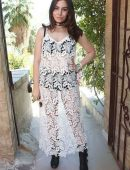 Sophie Simmons at The Zoe Report's ZOEasis at Coachella 2017