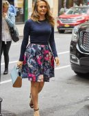 Alicia Silverstone Out and About in New York City