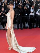 Emily Ratajkowski at the Opening Ceremony 70th Cannes Film Festival