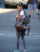 Meagan Good Booty in Yoga Pants, out in West Hollywood