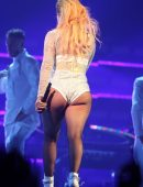 Lady Gaga on 'Joanne World Tour' at Rogers Arena in Vancouver, Canada