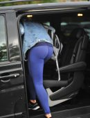 Gemma Atkinson Booty, Ariving at 'Strictly Come Dancing' Rehearsals in Liverpool