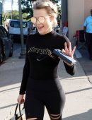 Witney Carson – Arriving at the Dance Studio for DWTS in Los Angeles