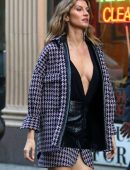 Gisele Bundchen for a Photoshoot on the Streets of Brooklyn