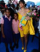 Rihanna at the Opening Ceremony of New Road Named 'Rihanna Drive' in Barbados