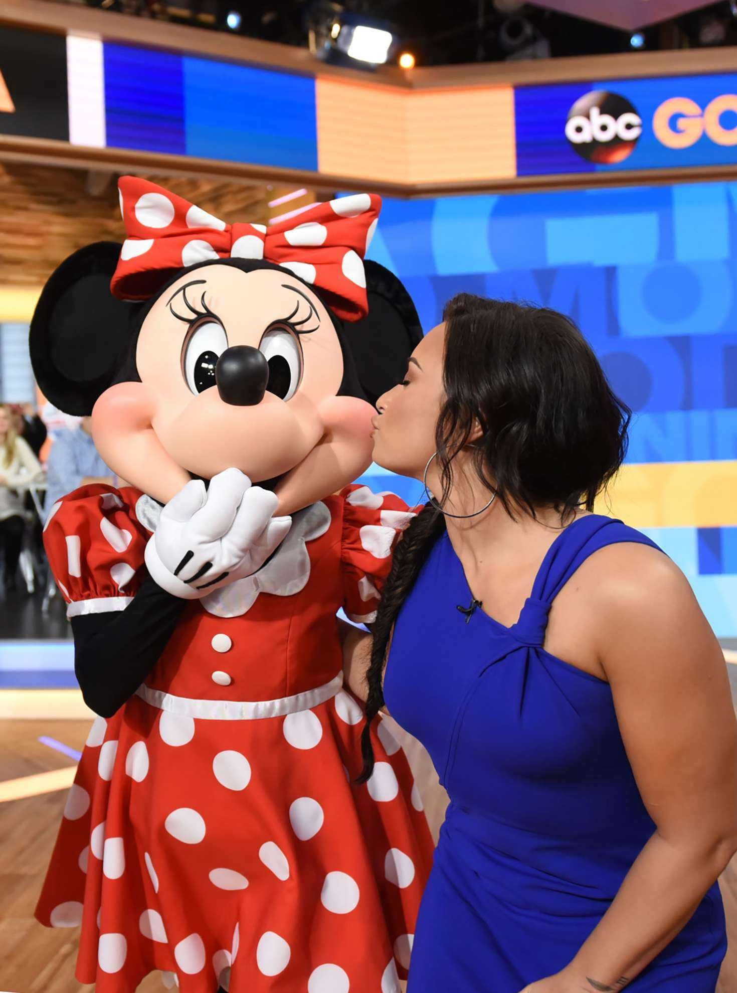 Demi Lovato on Good Morning America in NYC