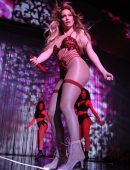 Jennifer Lopez Performing Live at Planet Hollywood in Las Vegas