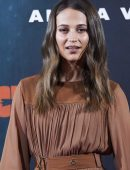 Alicia Vikander at the Photocall of 'Tomb Raider' in Madrid, Spain