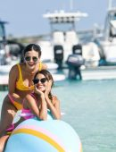 Victoria Justice and Madison Reed at Revolve Summer Event in Bermuda
