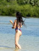 Farrah Abraham in Swimsuit on her Vacation in Fiji