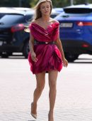 Joanna Krupa Out and About in Warsaw, Poland