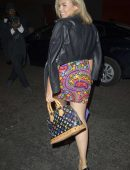 Tallia Storm Arriving at Impulse Limited Edition Body Mist Party in London
