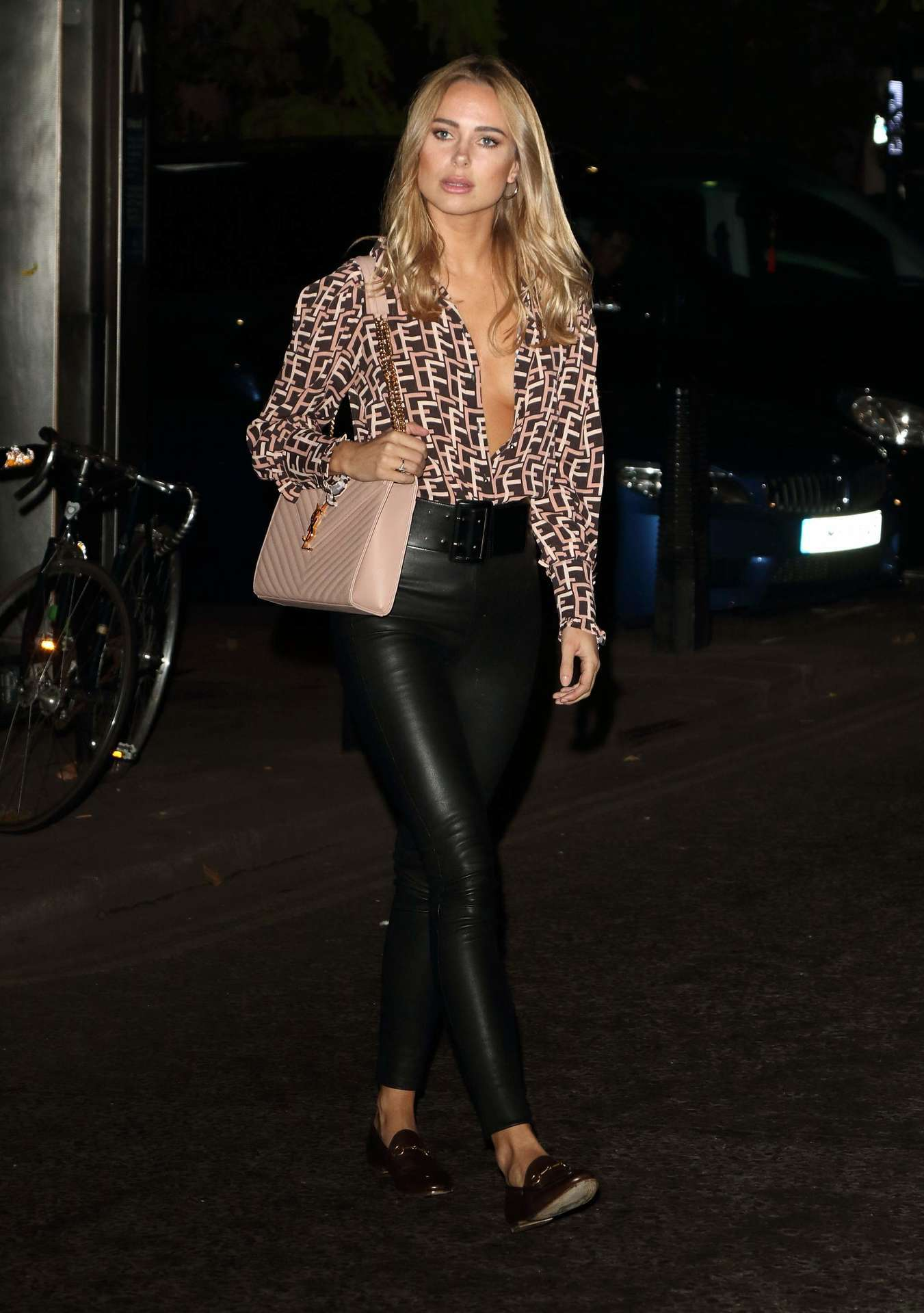 Kimberley Garner at Portr8's Three Mobiles VIP Gallery Launch in London
