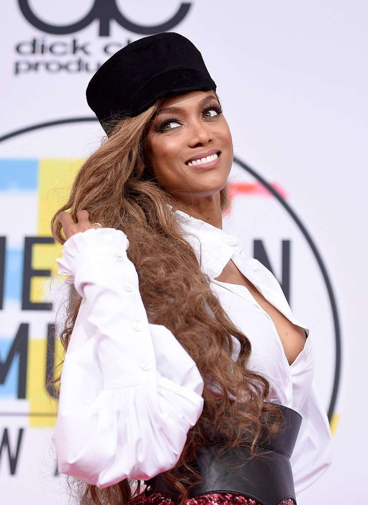 Tyra Banks - 2018 American Music Awards in Los Angeles