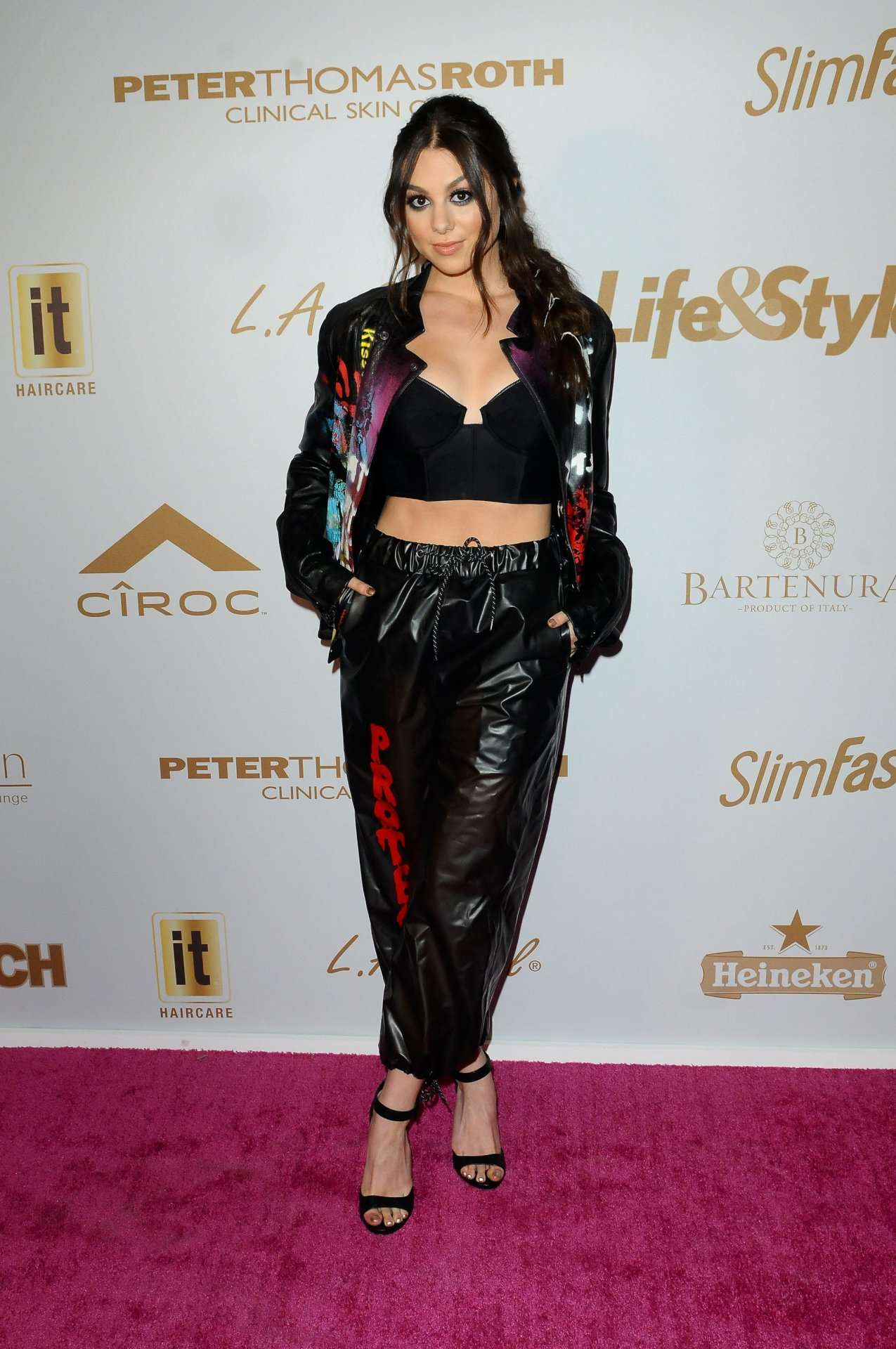 Kira Kosarin – OK! Star InTouch Life&Style Pre-Grammys Party in Los Angeles