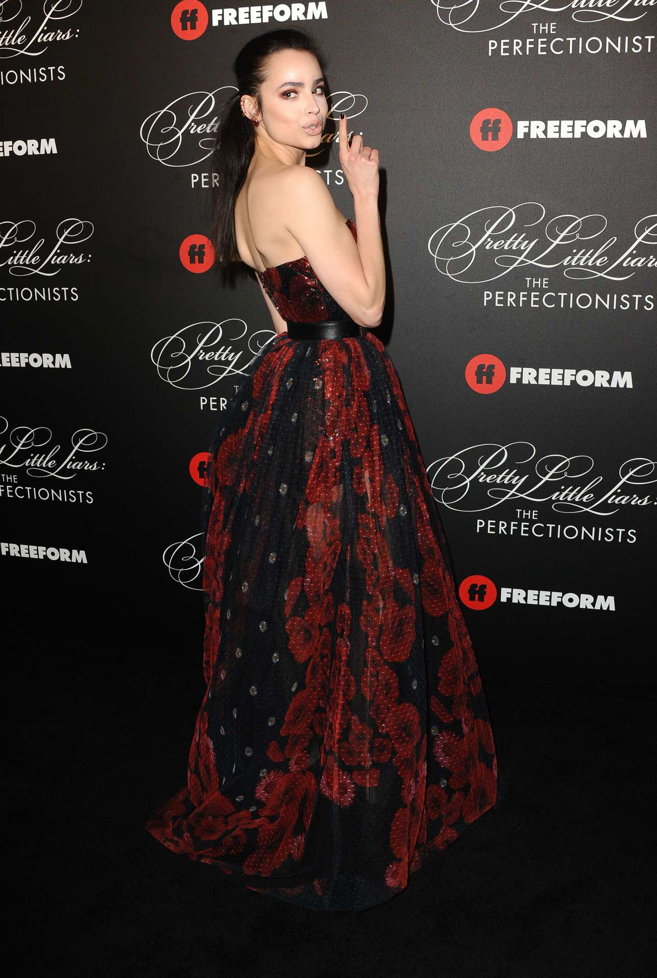 Sofia Carson at the Premiere of 'Pretty Little Liars: The Perfectionists' in Hollywood