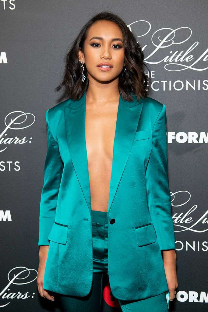 Sydney Park at the Premiere of 'Pretty Little Liars: The Perfectionists' in Hollywood