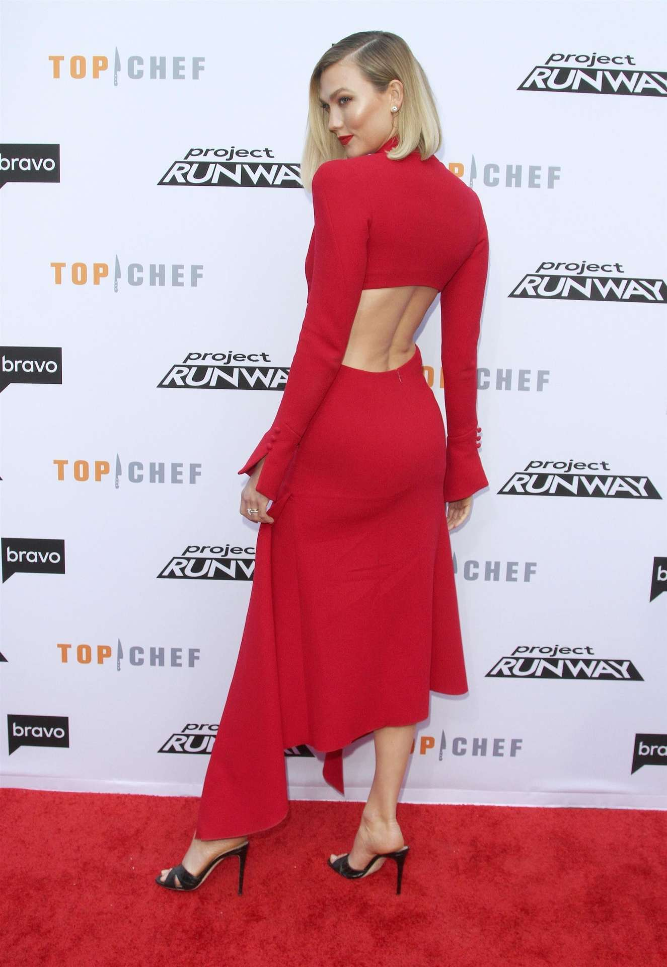 """Karlie Kloss - Bravo's """"Top Chef"""" &""""Project Runway"""" FYC Red Carpet Event in LA"""