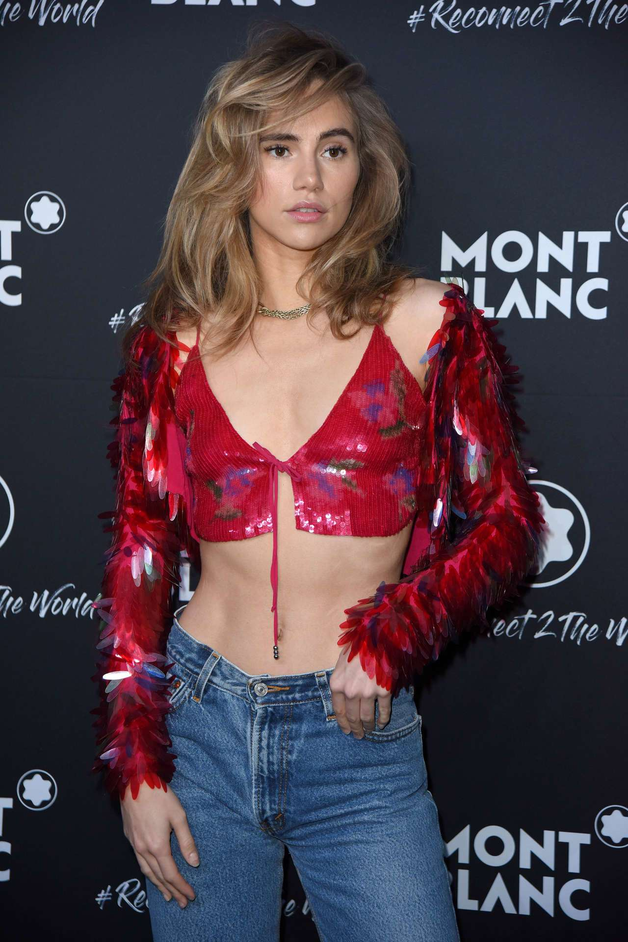 Suki Waterhouse - Montblanc #Reconnect 2 The World Party in Berlin