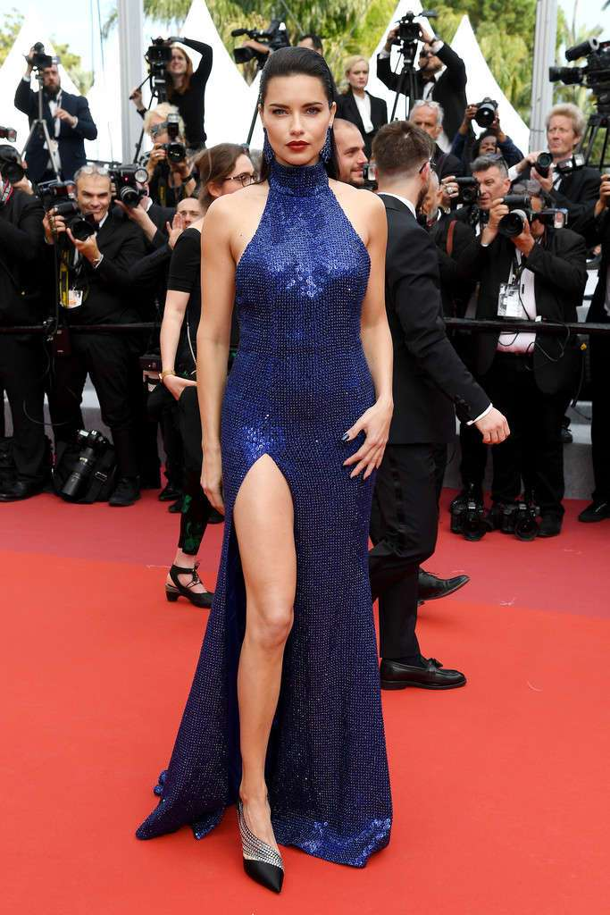 """Adriana Lima at """"Oh Mercy!"""" Screening, 72nd Annual Cannes Film Festival"""