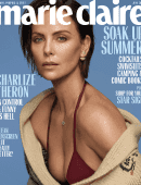 Charlize Theron in Marie Claire Magazine - June 2019