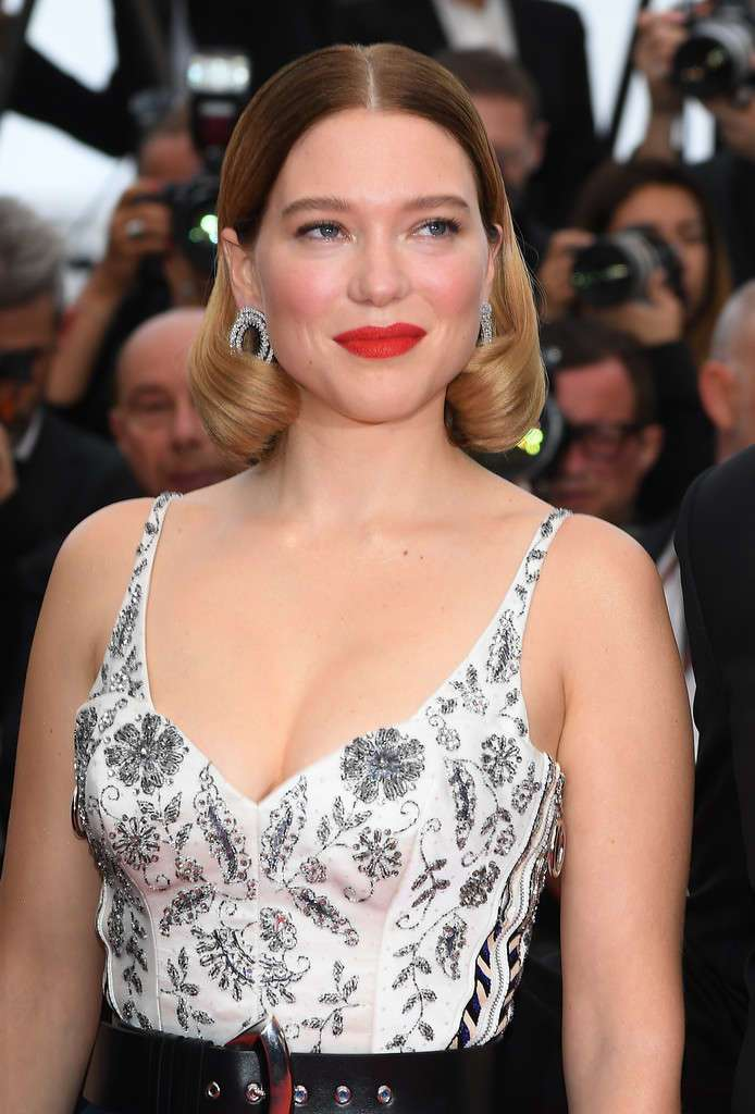 """Lea Seydoux at """"Oh Mercy!"""" Screening, 72nd Annual Cannes Film Festival"""