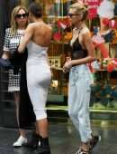Irina Shayk and Stella Maxwell Out in Florence