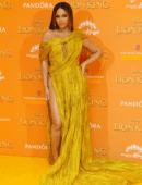 """Beyonce at the European Premiere of """"The Lion King"""" in London"""