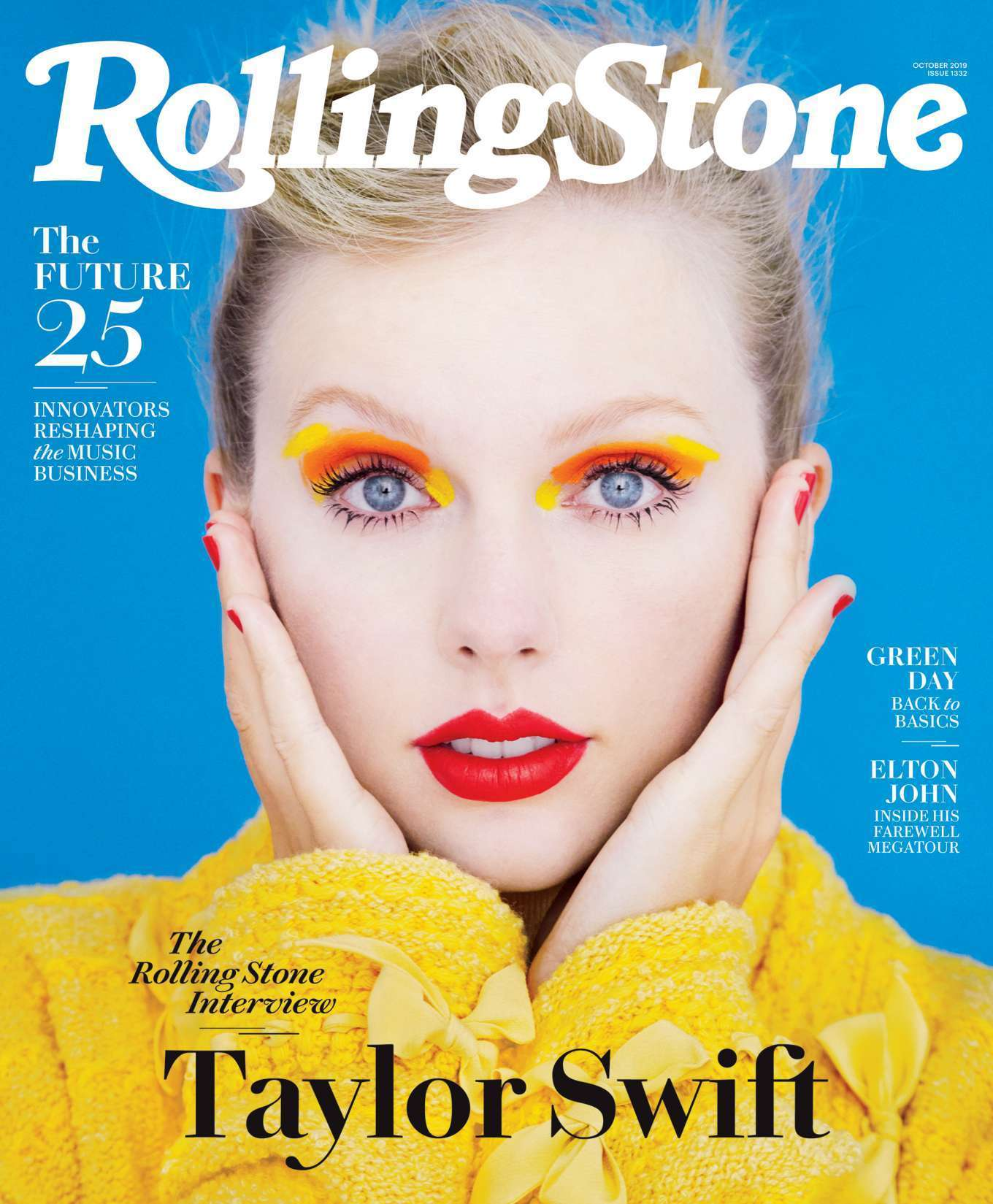 Taylor Swift in Rolling Stone Magazine - October 2019
