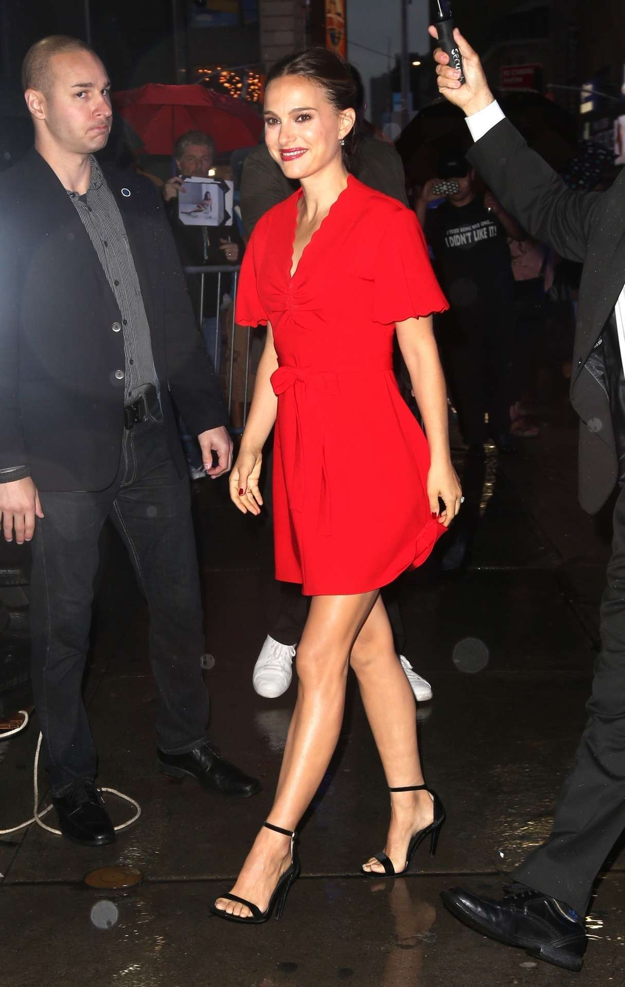Natalie Portman Outside 'Good Morning America' in NYC