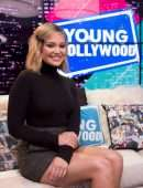 Olivia Holt Leggy at Young Hollywood Studio in Los Angeles