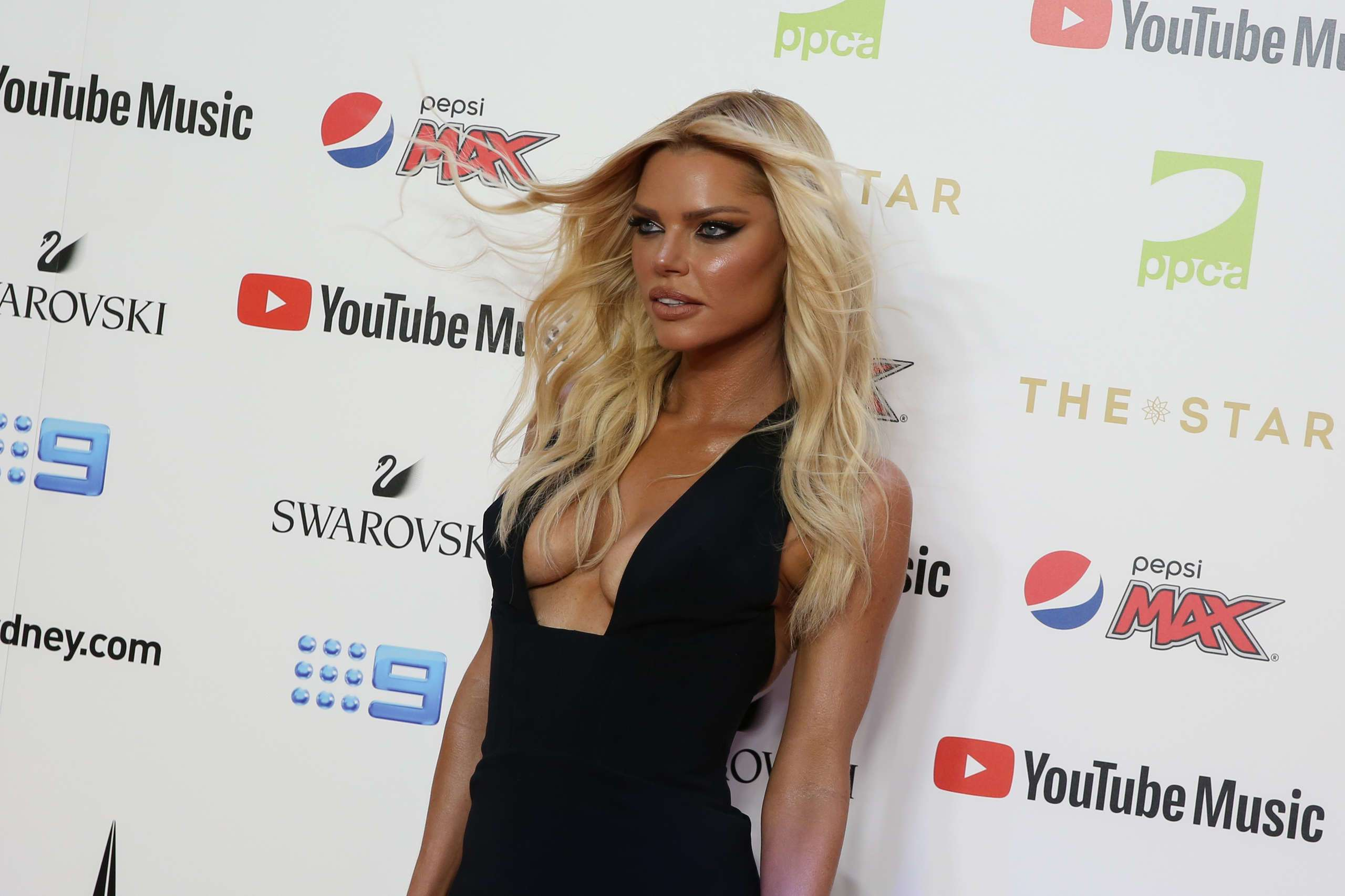 Sophie Monk at 33rd Annual ARIA Awards 2019 at The Sun in Sydney
