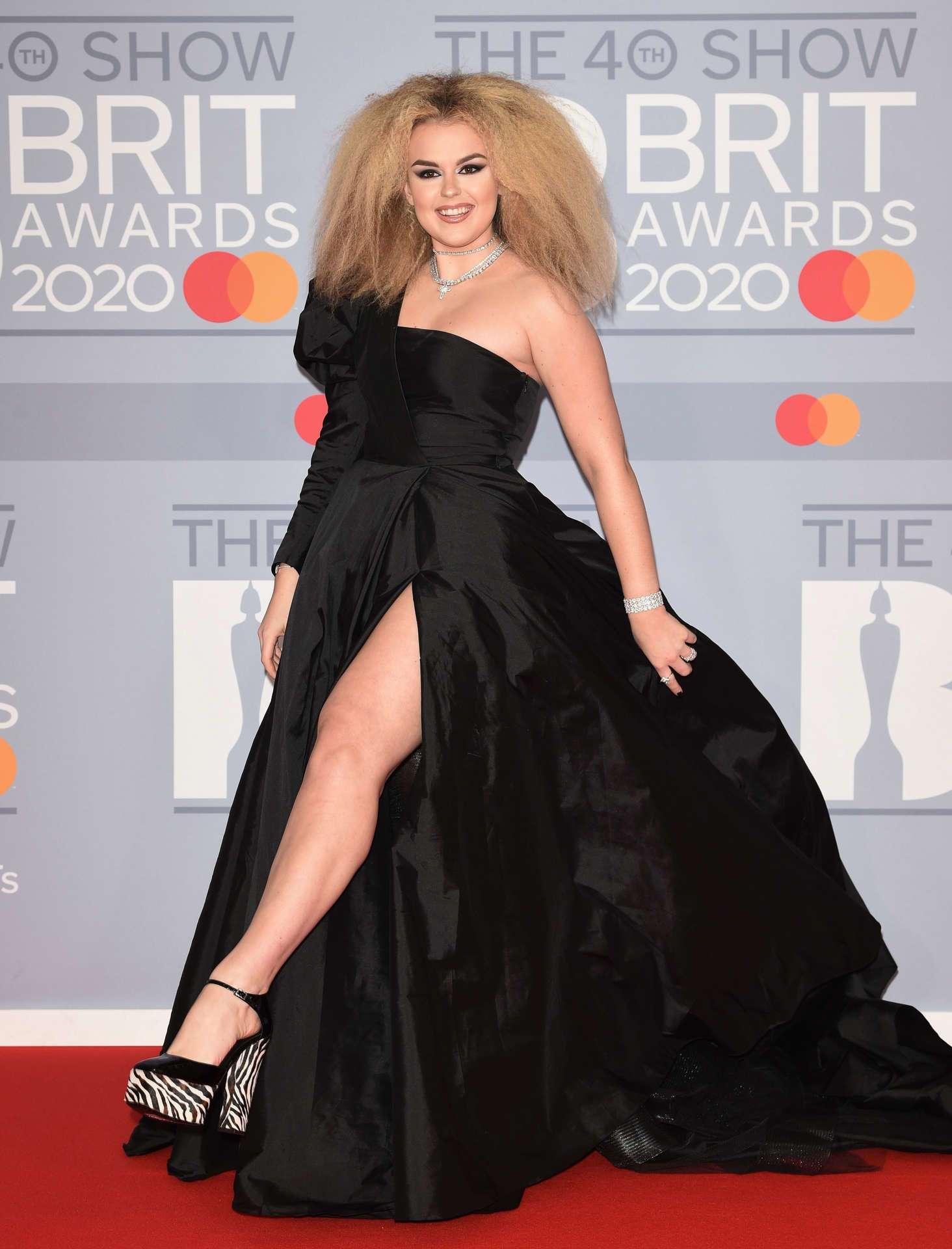 Tallia Storm at The BRIT Awards 2020 in London