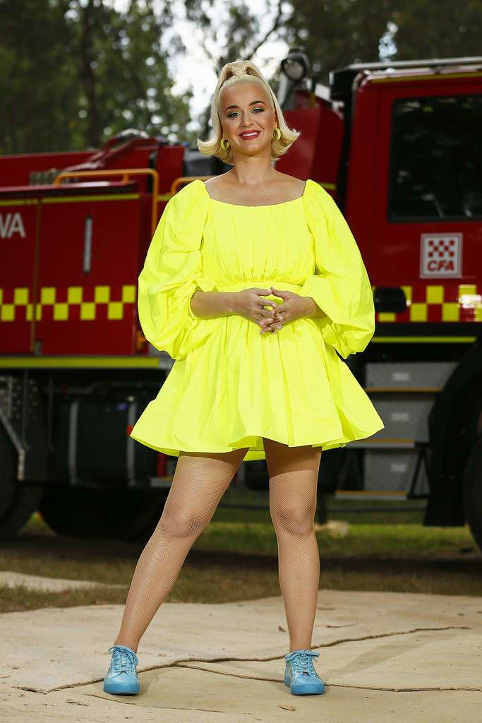 Katy Perry at Fight On Concert For Firefighters And Bushfire Victims in Bright