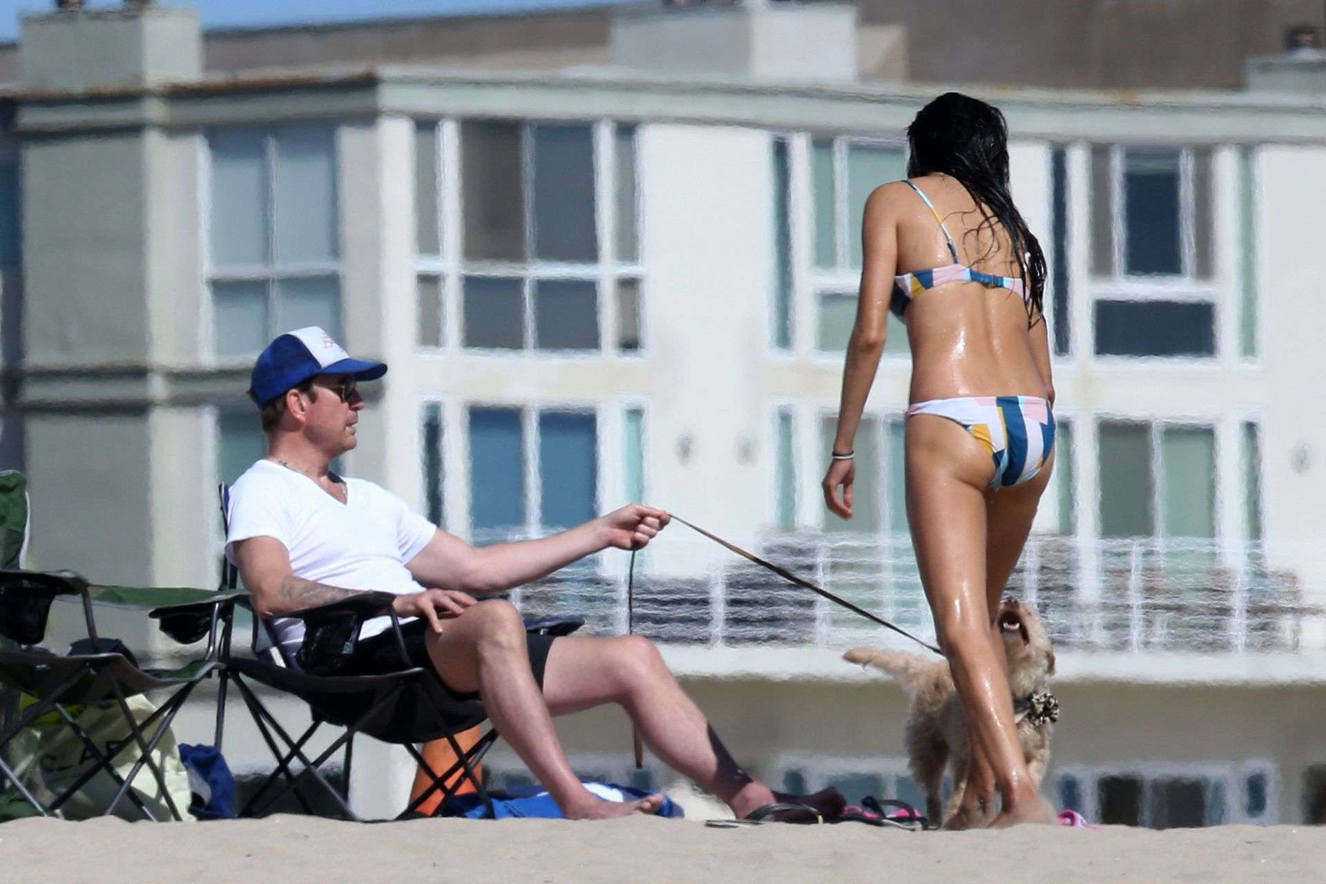 Soo Yeon Lee and Dylan McDermott Enjoys A Beach Day in Los Angeles