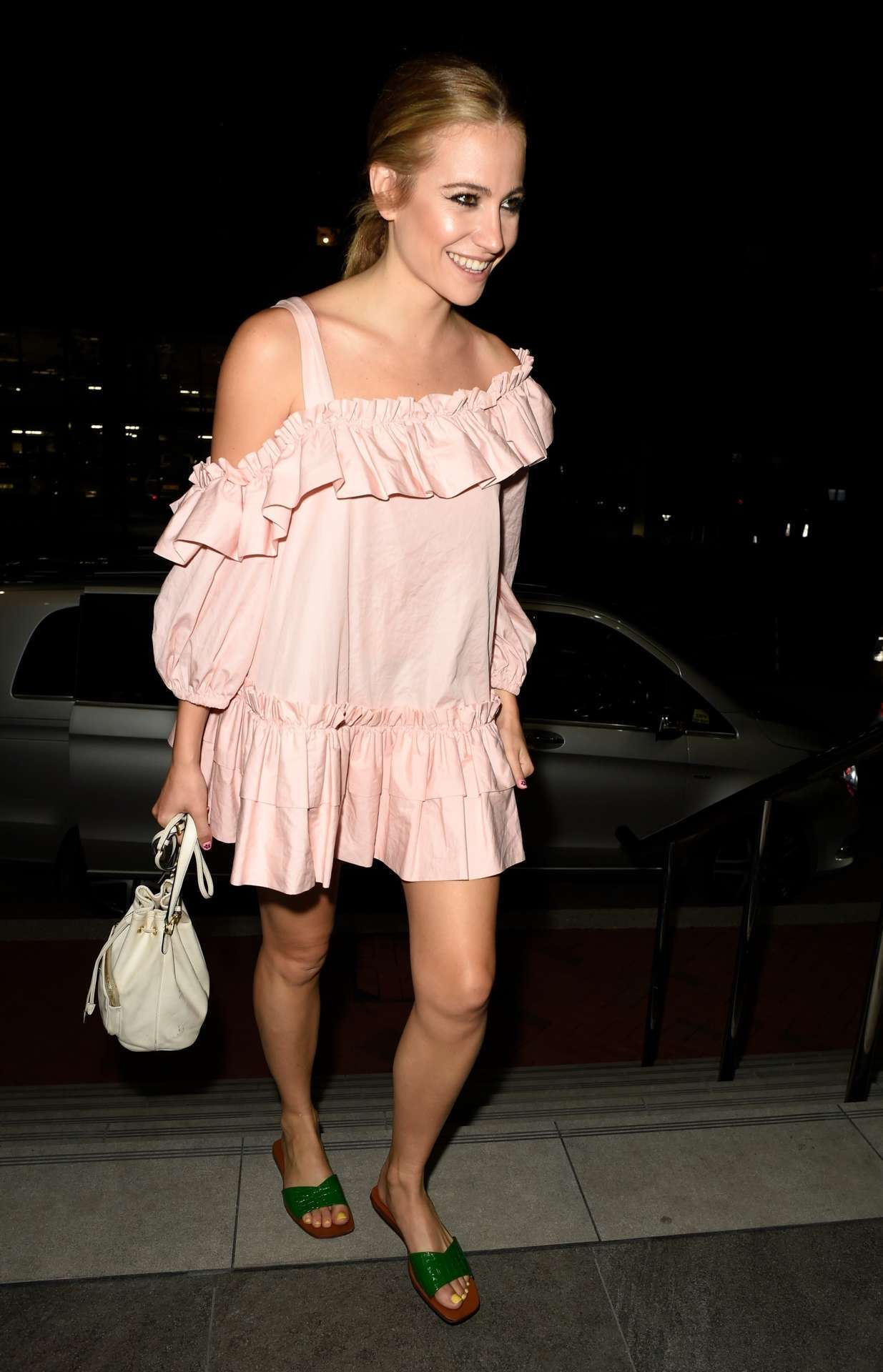Pixie Lott Returning to her Hotel in Manchester