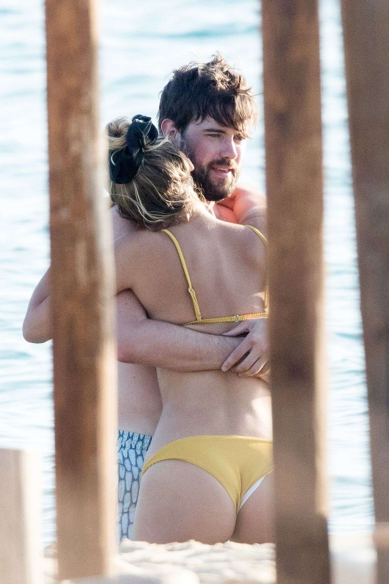Roxy Horner and Jack Whitehall, PDA while Vacationing in Greece