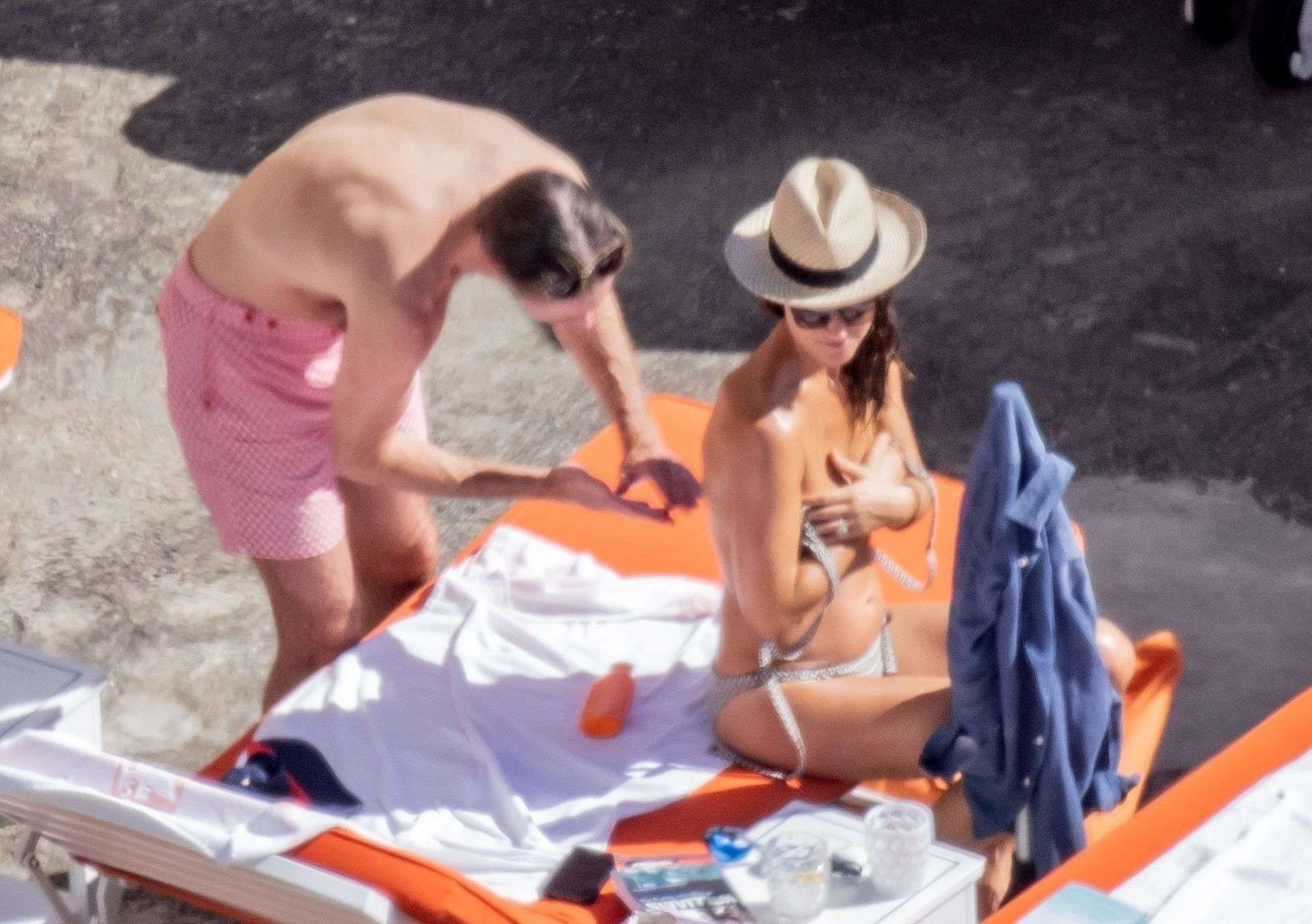 Pippa Middleton and James Matthews Tan It Up on Their Holidays Out in Positano