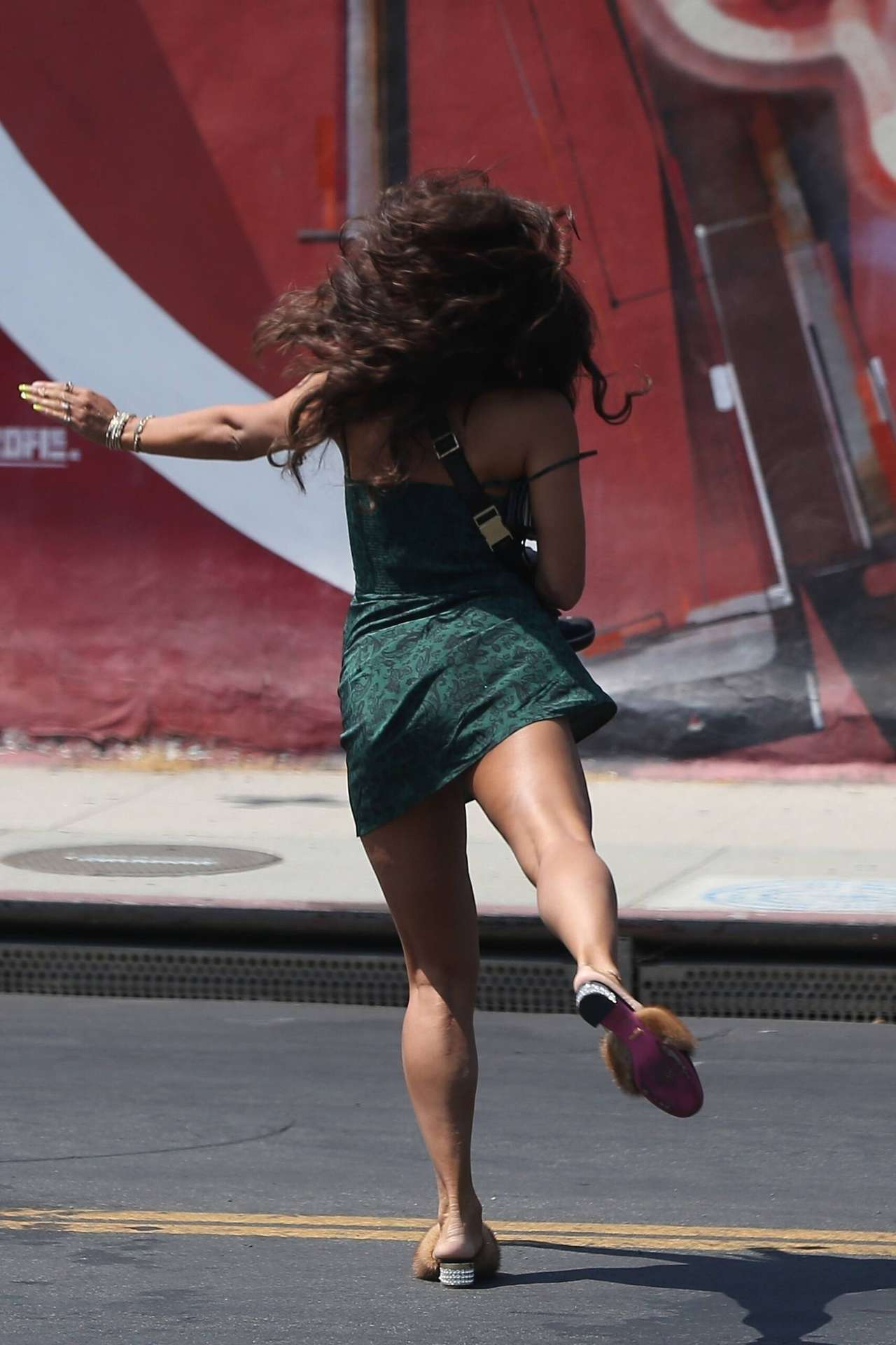 Vanessa Hudgens Leggy, Out in West Hollywood