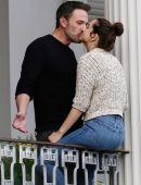 Ana de Armas with Ben Affleck on the Set of 'Deep Water' in New Orleans