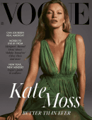 Kate Moss in Vogue Magazine - January 2021