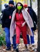 """Selena Gomez on the Set of """"Murders In The Building"""" in NYC"""